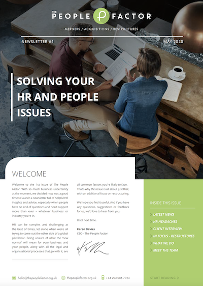 Q2 2020 The People Factor Newsletter